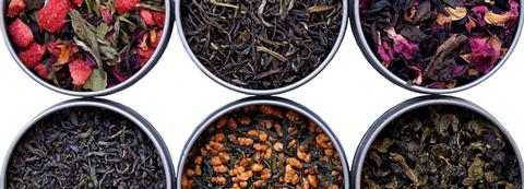 Selección de los mejores tés, rooibos, hierbas relajantes, matcha,...