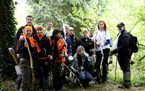 Les équipes féminines d'Amilly et de Fleury-Saran