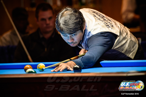 Kenichi Uchigaki Photo Courtesy of U.S. Open 9-ball Championships & JP Parmentier