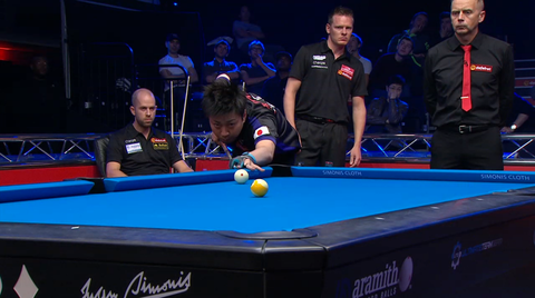World Cup Of Pool, Last 16 Japan 7-6 Holland