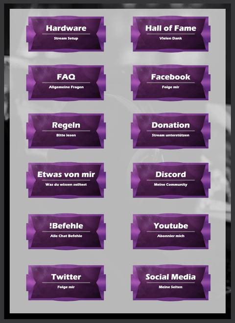 Twitch Panels 3