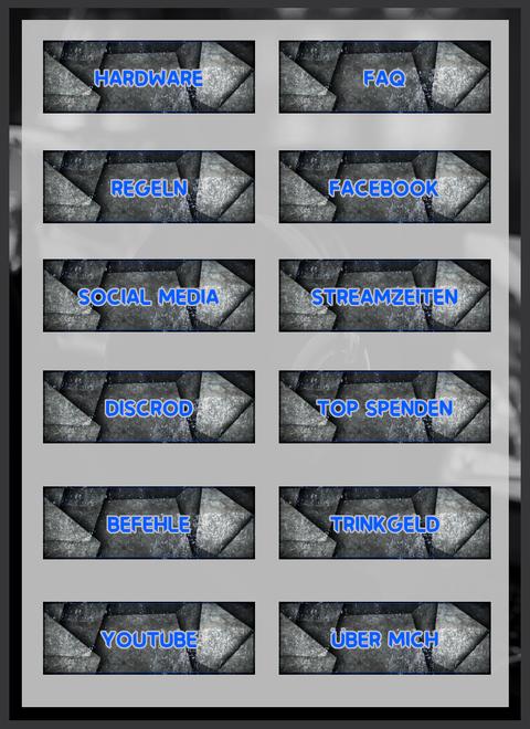 Twitch Panels 9