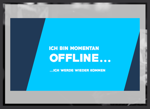 Twitch Offline Banner kostenlos downloaden 4