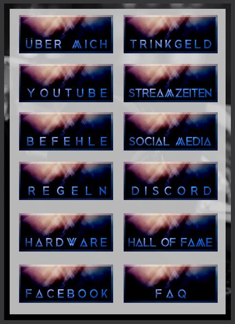 Twitch Panels 15