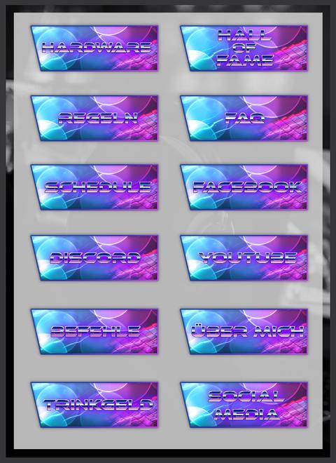 Twitch Panels 16