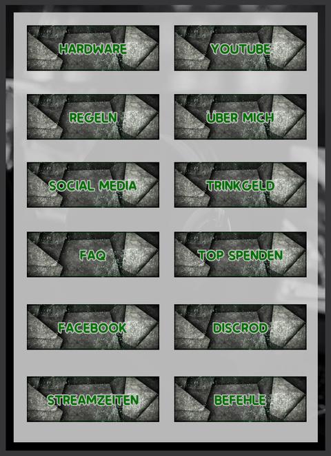 Twitch Panels 10