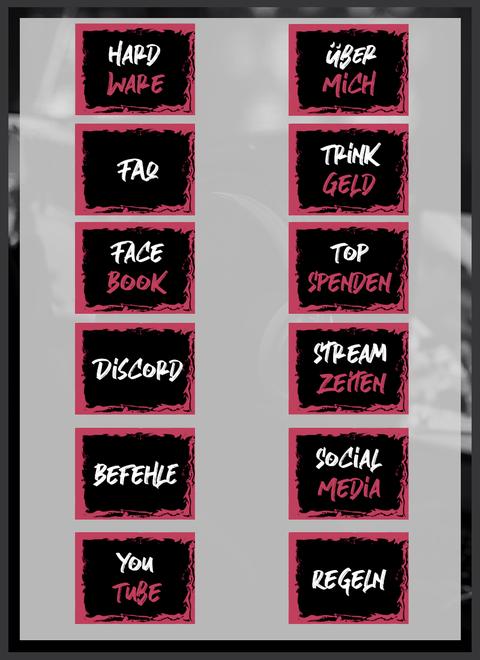 Twitch Panels 19