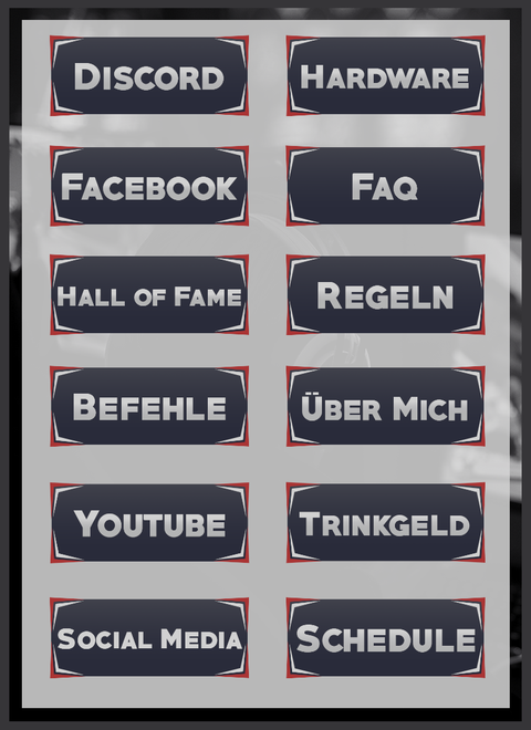 Twitch Panels 20
