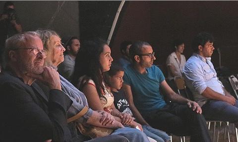 Public Un courant d'air dans le crâne, Tunis, Octobre 2013 © Tonino Martignetti