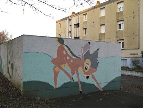 ©Claude Lévêque. Bambi. 2012