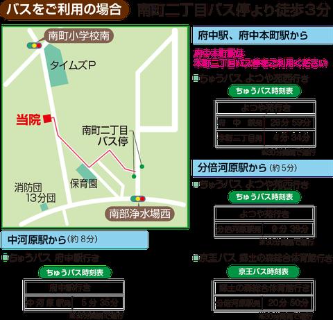 府中朝倉クリニック 内科 外科 整形外科 皮膚科 地図02