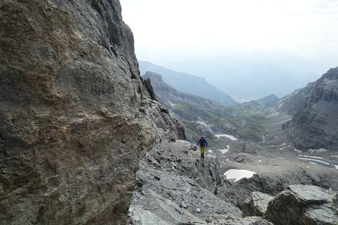 Ringelspitz, Mittelgrat, Tschepband, alle 3000, alle Kantonshöchste, höchster St. Galler Gipfel, Taminser Gletscher
