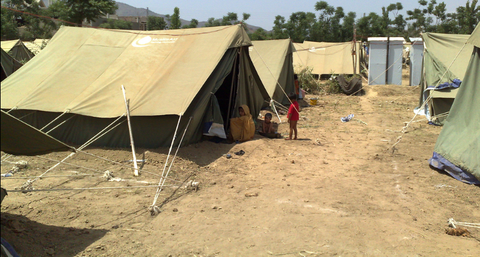 Refugee camp by Al Jazeera English via flickr