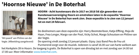 Hoorns Dagblad, 31-12-2018