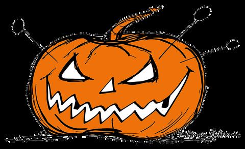 Halloween Kürbis © Bianca Fuhrmann - die lange Business-Zombie-Woche 2014 - #BusinessZombie