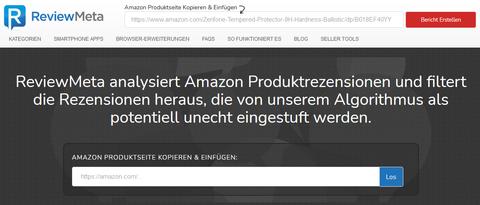 ReviewMeta - Homepage