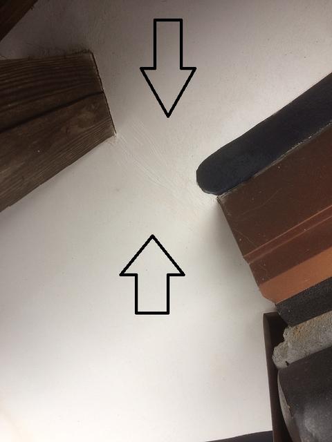 熊本地震による外壁ひび割れ 部分修理塗装 熊本市(有)岩津塗装