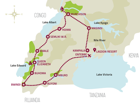 Karte Tourenverlauf