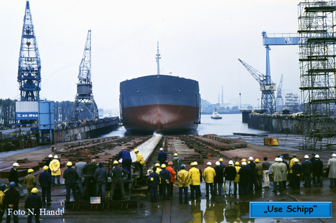 Der Kampf um den Erhalt der Werft war zu dieser Zeit schon voll in Gang.