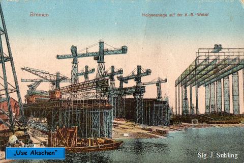 Use Akschen um 1920