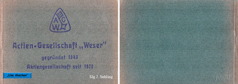 Postkartenheft 1922