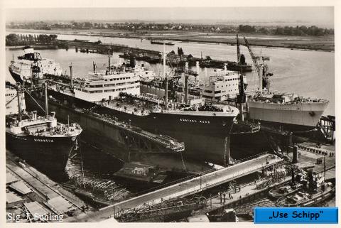 """Reparatur-Einrichtungen der AG """"Weser"""" Dock 3 und 5"""