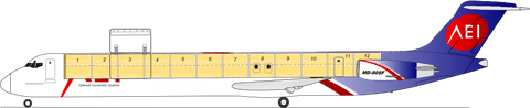 Grafische Darstellung des Frachters/Aeronautical Engineers