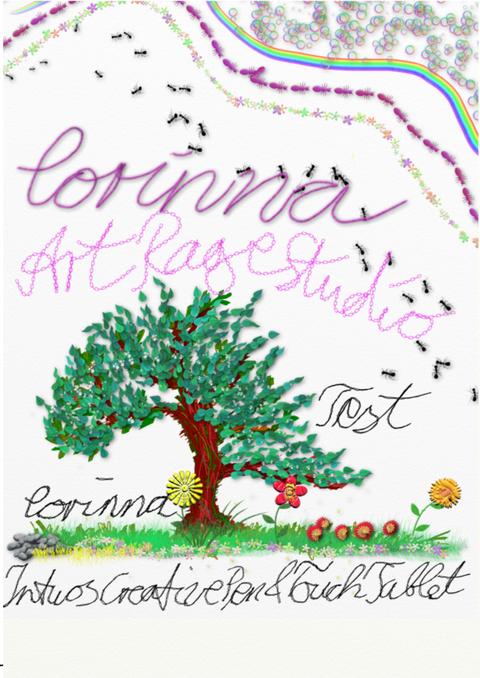Damit ich mit Inkscape genauer zeichnen kann... und dann habe ich ArtRage Studio entdeckt.