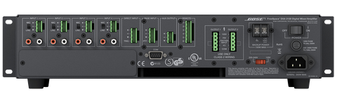 amplificador de 120w, amplificador para instalación, bose, DXA2120
