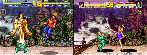 Super NES version/ Neo Geo version