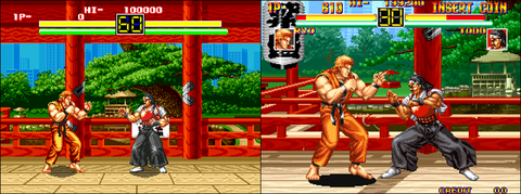 art of fighting megadrive
