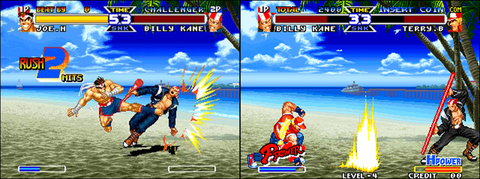 PSX version / Neo Geo version