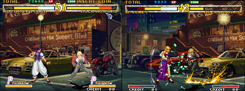 Dreamcast version / Neo Geo version
