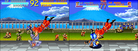 Super NES version / Neo Geo version