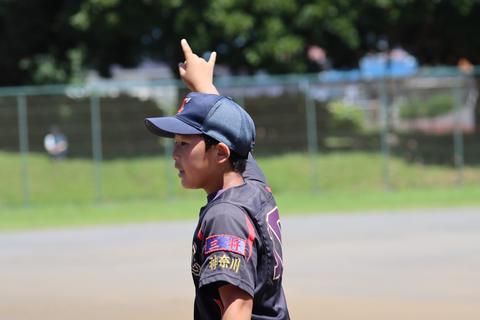 2021年7月18日 神奈川区少年野球 春季大会 天屋ビーバース対反町ゴールドファイヤーF