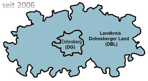 Landkreis in seiner heutigen Form (seit 2006)