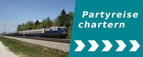 Partyreise chartern