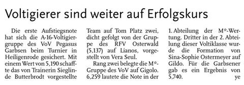 Leine-Zeitung, 19.06.2014