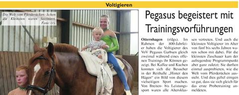 Neustädter Zeitung, 01.06.2014