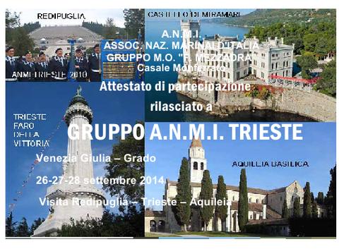 Saluti e ringraziamenti da ANMI Casale Monferrato.