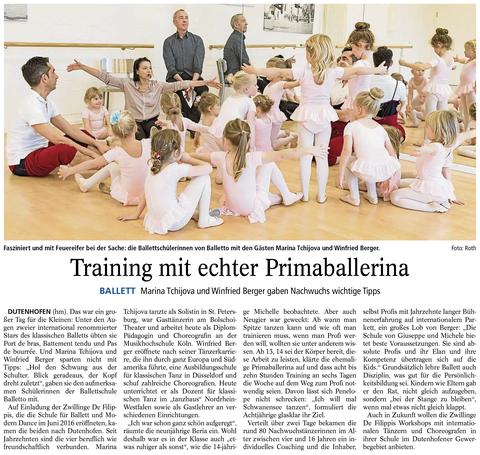 Tanzschule Ballettschule