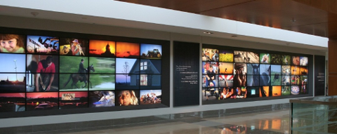 Videowall Displays, Videowand LCD