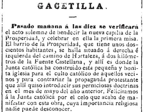 La Esperanza  23 de junio de 1871 (Biblioteca Nacional)