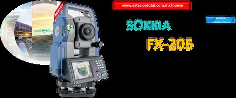 estaciones totales sokkia fx-205