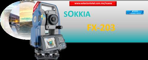 estaciones totales sokkia fx-203