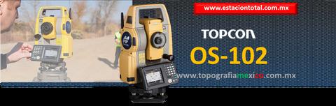 estacion total topcon OS102