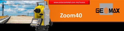 estaciones totales geomax zoom40