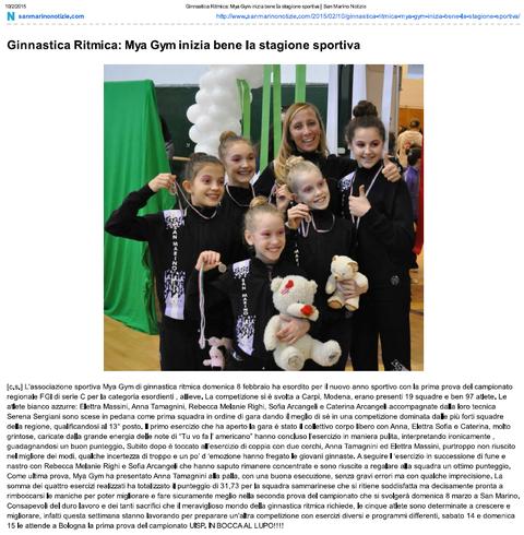 sanmarinonotizie.com 10/02/2015