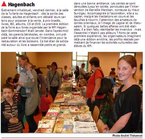 Foire aux livres de Hagenbach