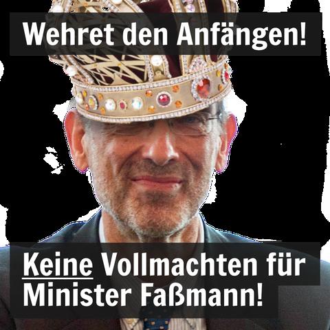 Allmachtsphantasien: Bildungsminister Heinz Faßmann. Foto: BKA / UGÖD